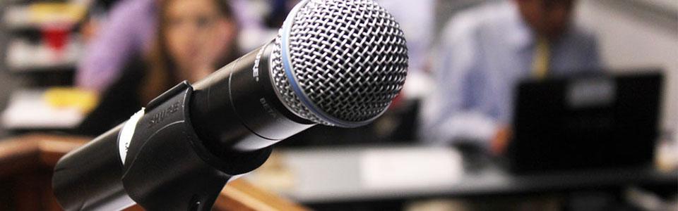 Public Speaking Workshop, Advanced banner
