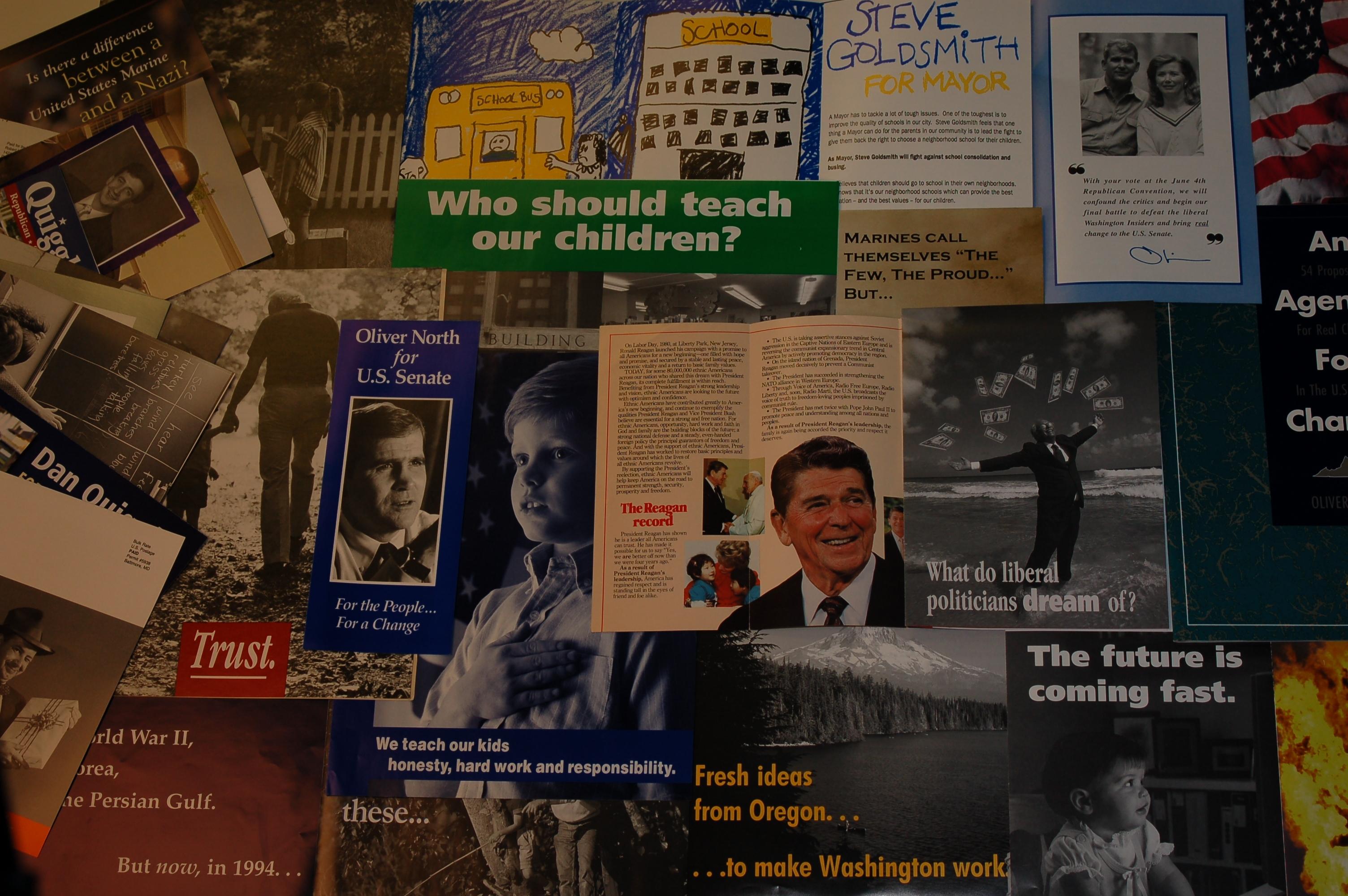 Political Voter Mail Workshop banner