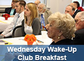 Wednesday Wake-Up Club Breakfast