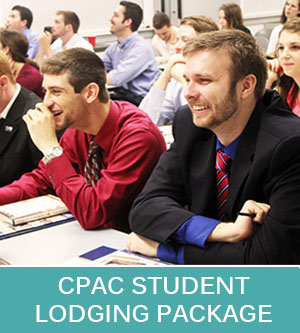 CPAC Student Lodging Package