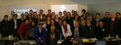 LI Faculty and Students in Mexico City