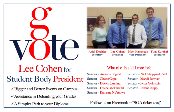 From Campaign Loss To Student Body President Win
