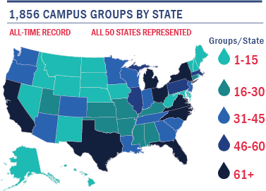 Campus Leadership Map